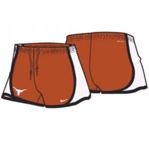 Texas Nike Tempo Shorts